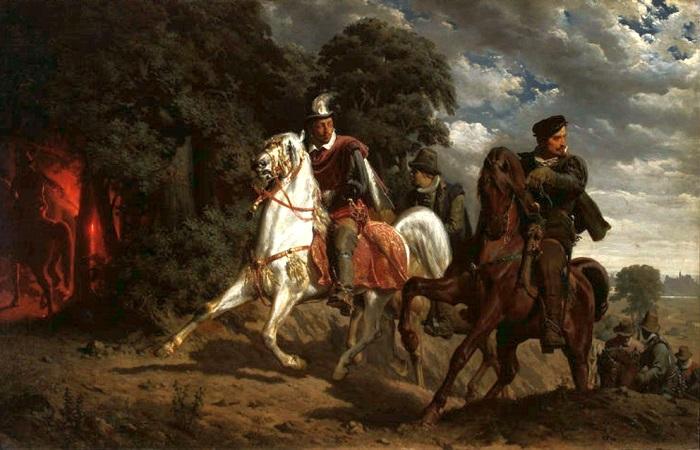 Как Генрих III побыл польским королём: история грандиозной авантюры шестнадцатого века. Картина Артура Гроттгера.